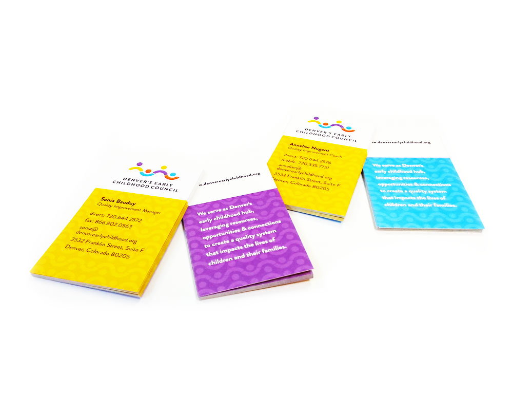 Digitally Printed Business Cards CEC Document Services